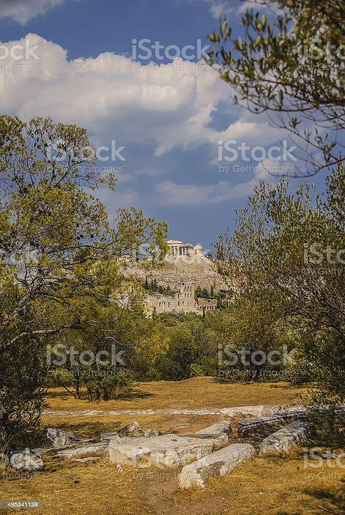 Acroplis - Athens, Greece stock photo