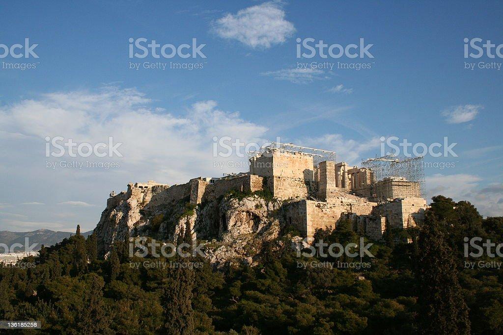 Acropola royalty-free stock photo