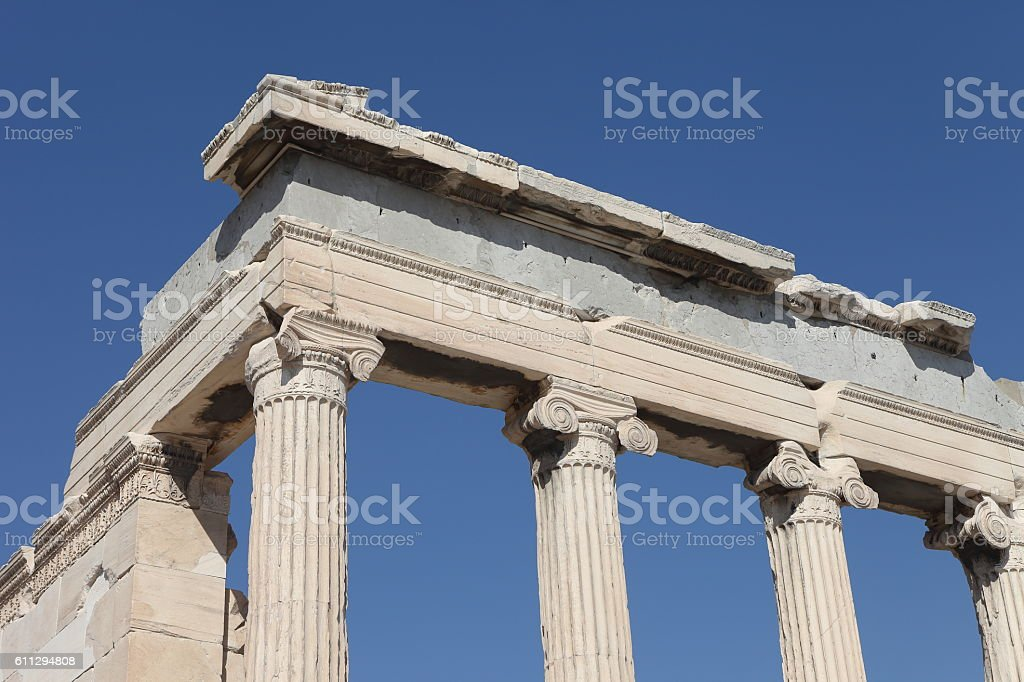 Acropole in Athens, Greece stock photo
