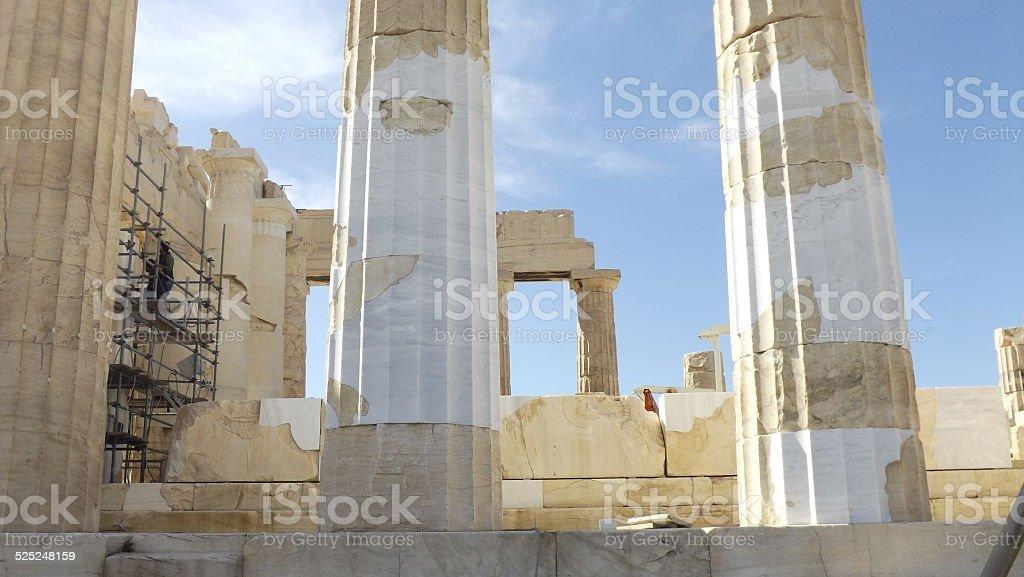 Acropolis, Athen, Parthenon. stock photo