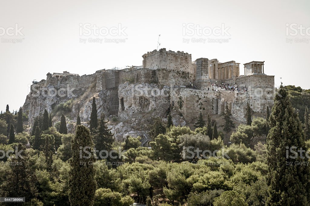 Acropolis - Athens, Greece stock photo