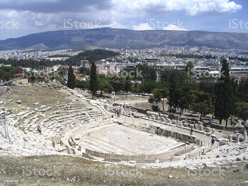 Acropolis, Athens royalty-free stock photo