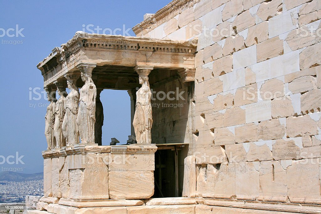 Acropolis in Athens, Greece royalty-free stock photo