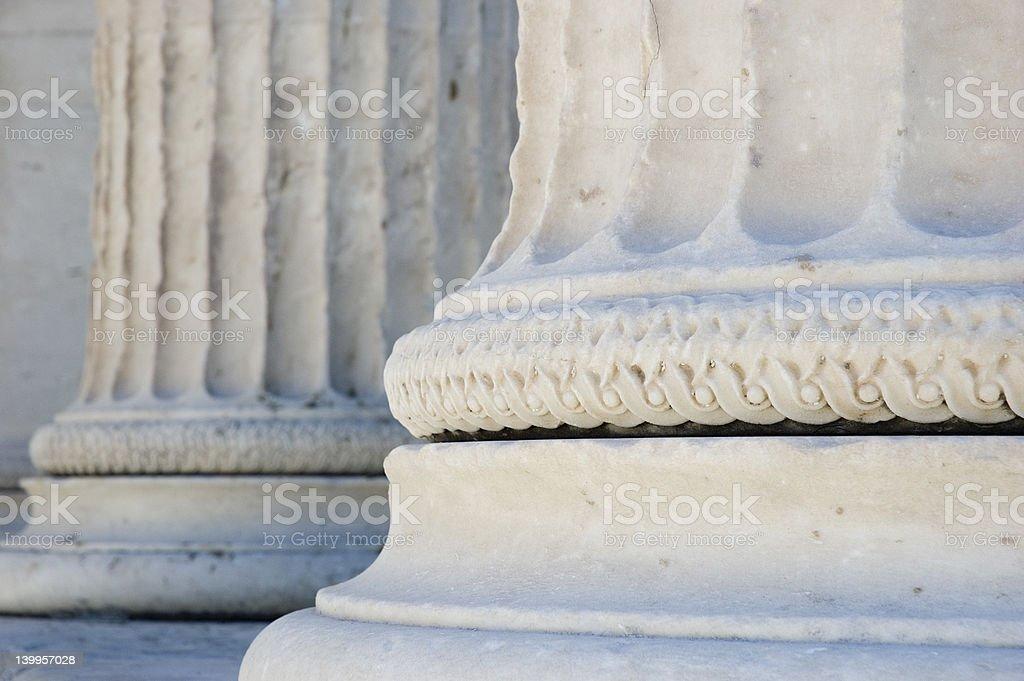 Acropolis in Athens royalty-free stock photo