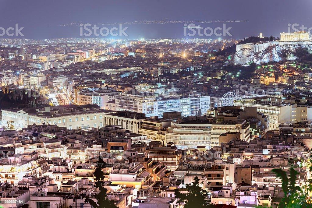 Acropolis in Athens,Greece stock photo