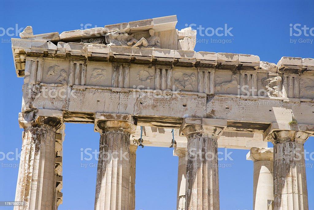 Acropolis of Athens royalty-free stock photo