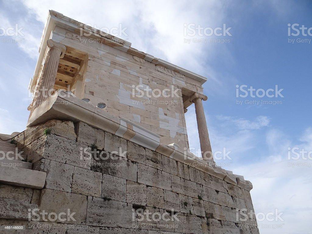 La ciudad de Atenas foto de stock libre de derechos