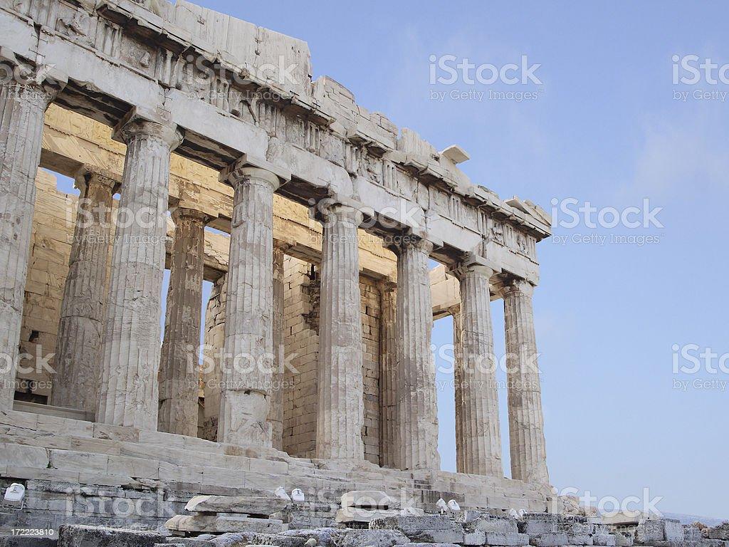 Acropolis royalty-free stock photo