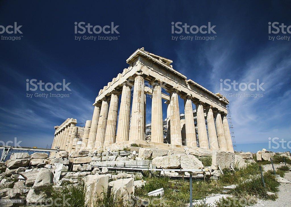 Acropolis stock photo