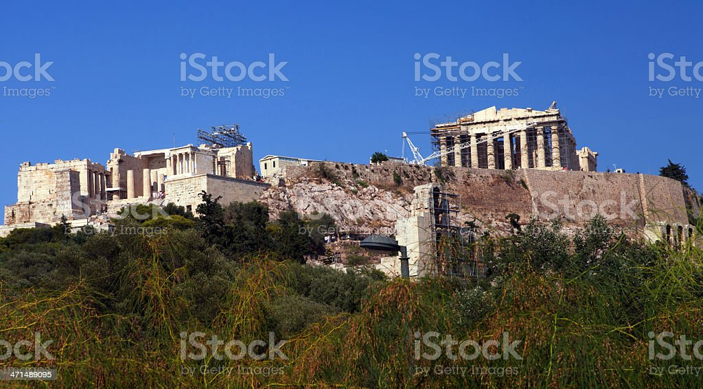 Acropolis royalty-free stock photo