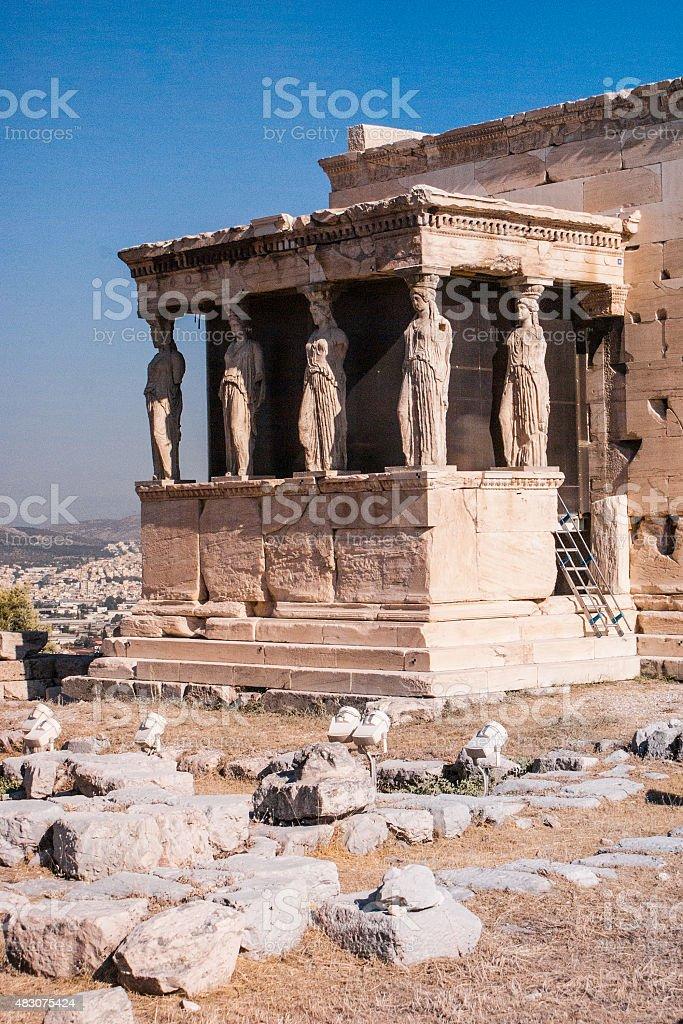 Acropole de Baalbek photo libre de droits
