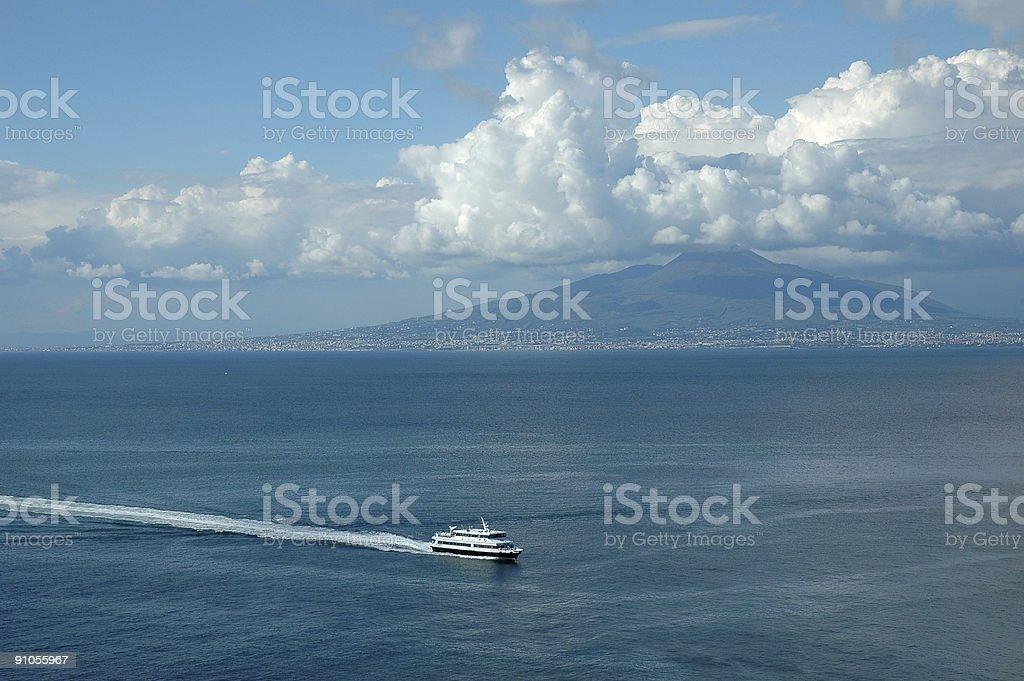 Across the Bay royalty-free stock photo