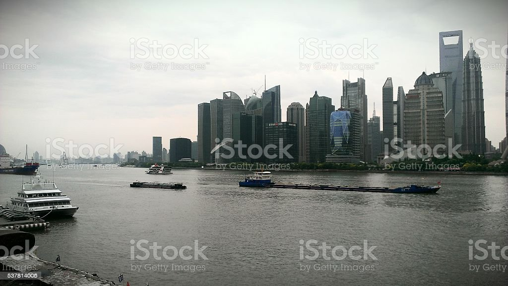 Sul fiume foto stock royalty-free