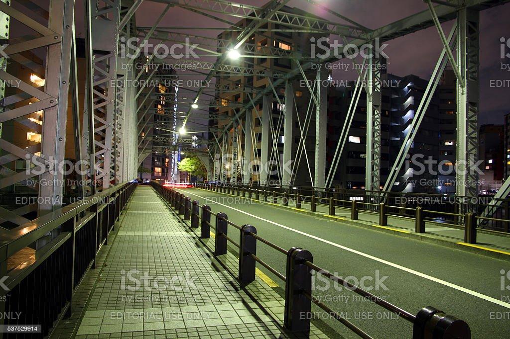 Across the Waterway stock photo