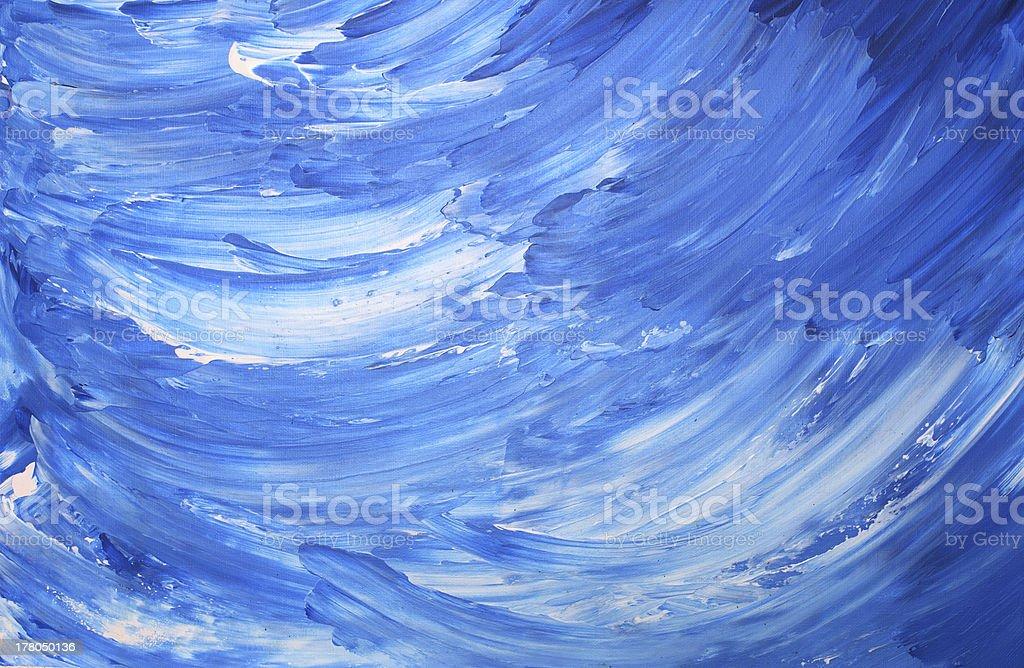 Acrylic Background Painting royalty-free stock photo