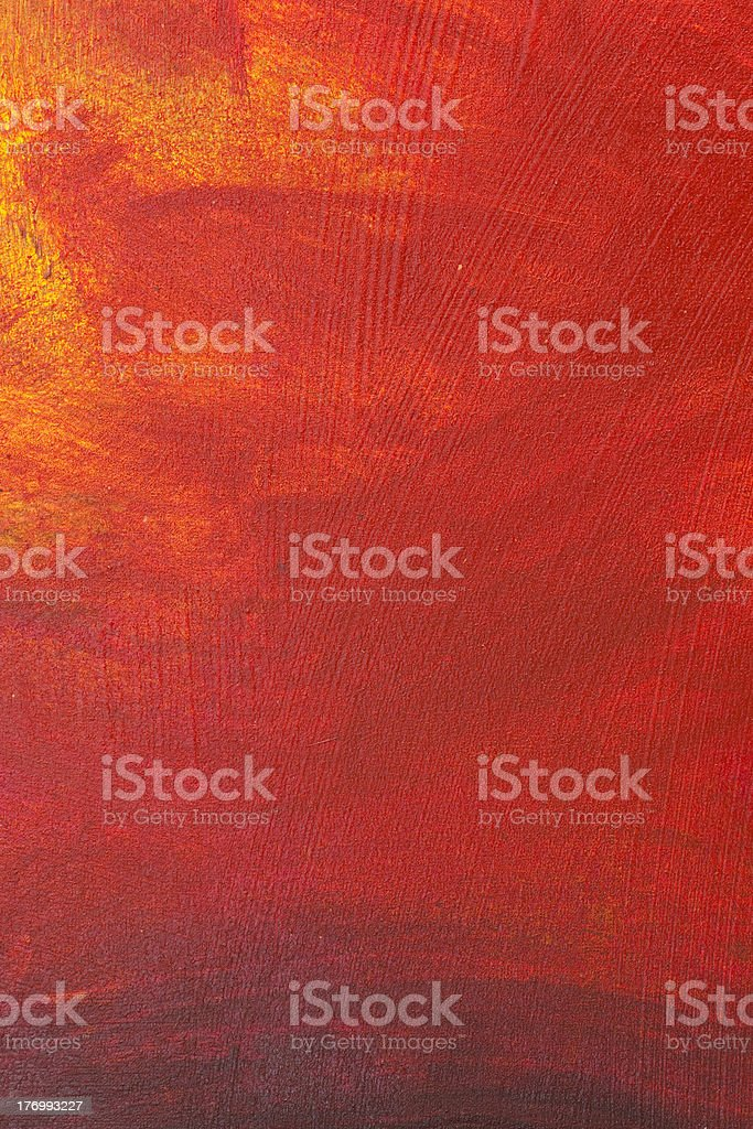 Acrylic paint on canvas royalty-free stock photo