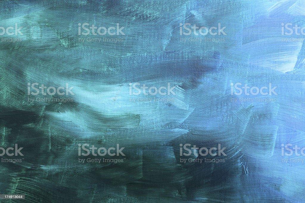 acrylic painted canvas stock photo