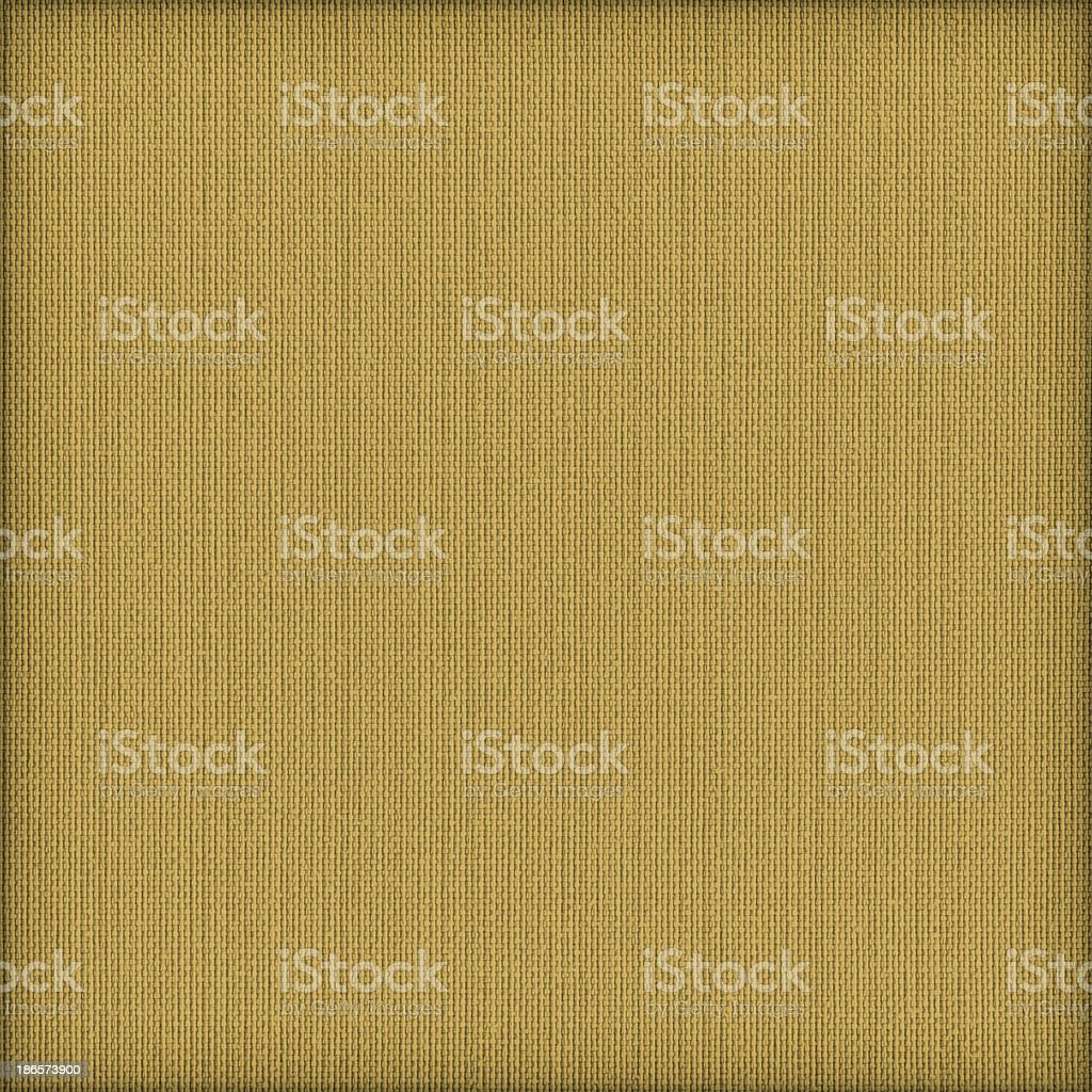 Acrylic-Cotton Yellow Upholstery Vignette Texture Sample royalty-free stock photo