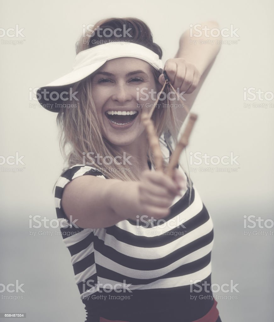 acting like a child stock photo
