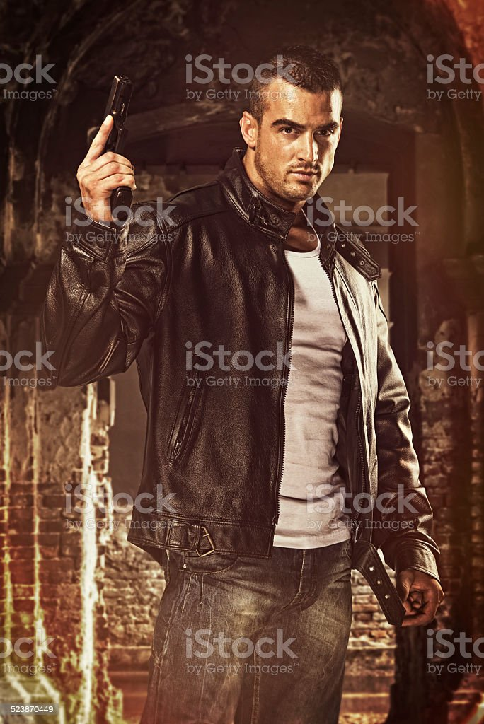 Action Hero stock photo