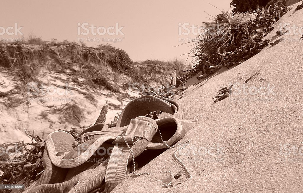 Action in Normandy royalty-free stock photo