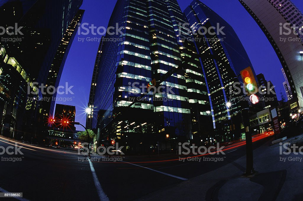 Action in Office buildings royalty-free stock photo