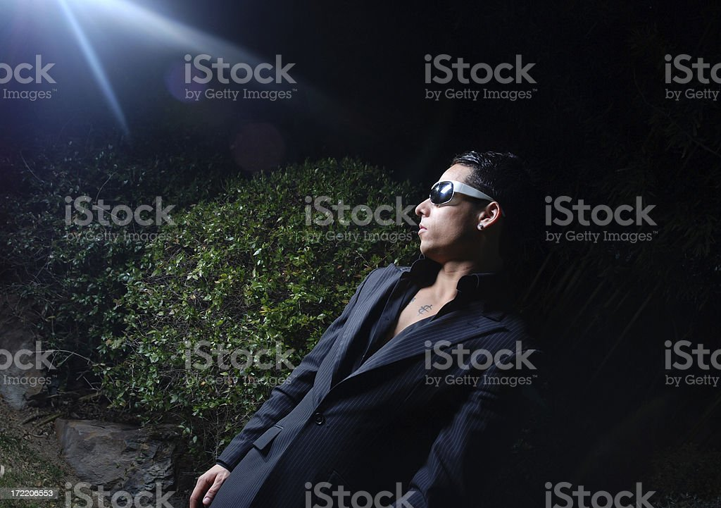 Action man stock photo