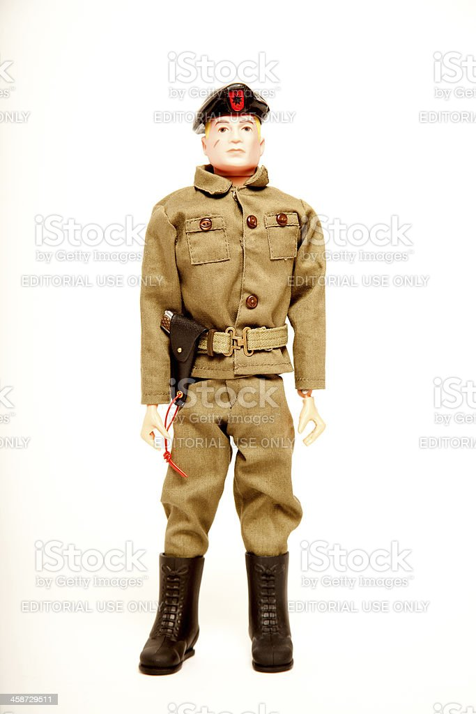 Action Man Talking Commander Figure royalty-free stock photo