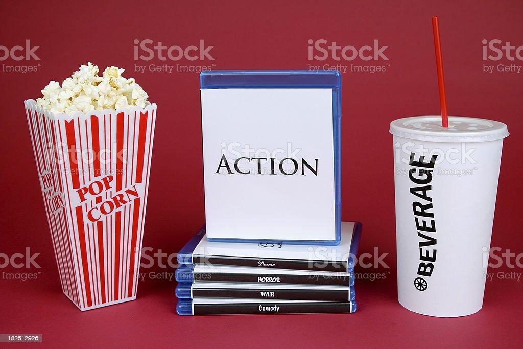 Action Movie royalty-free stock photo