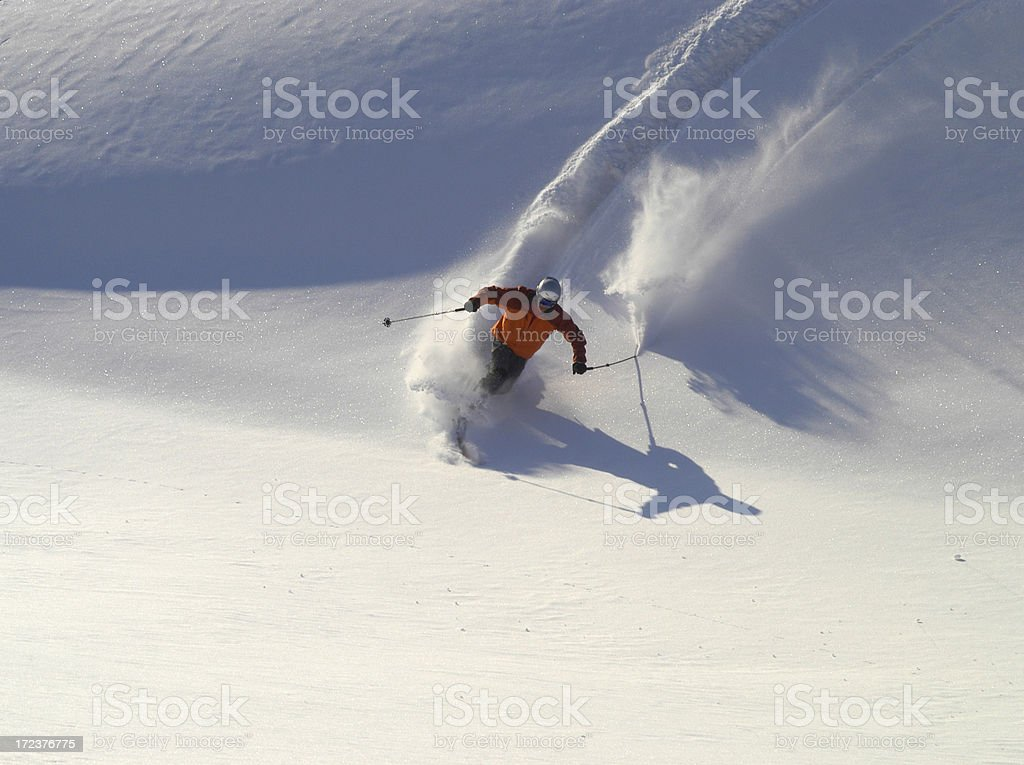 Action Powder royalty-free stock photo