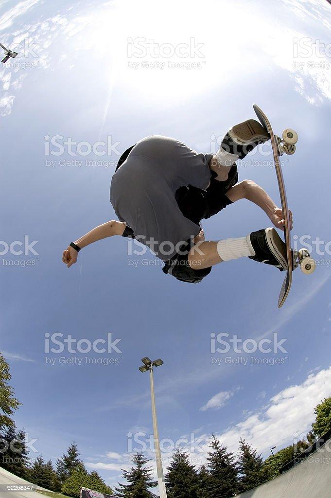 Action Sports - Big Air royalty-free stock photo