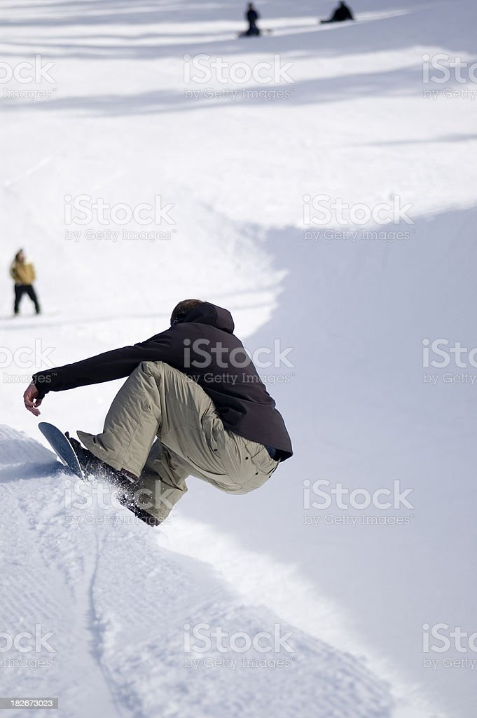Action Sports - Dropping In stock photo