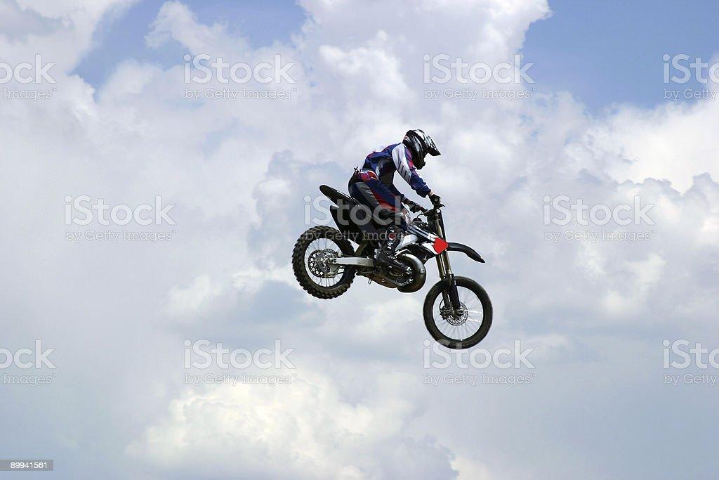 Action Sports - Motocross royalty-free stock photo