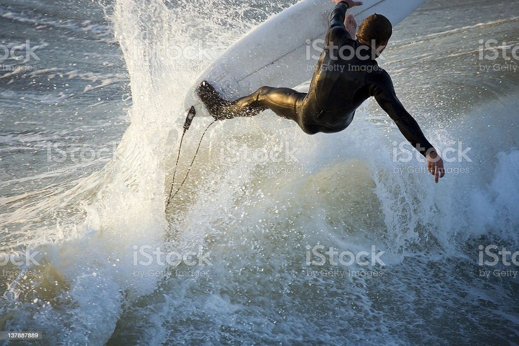 Action Surf royalty-free stock photo