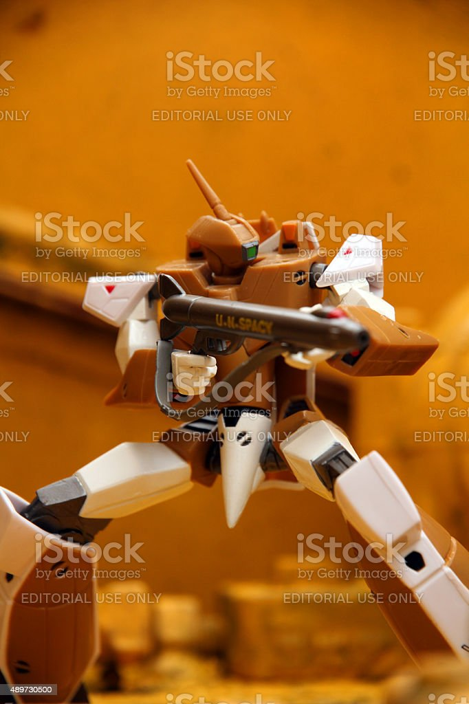 Action Warrior stock photo