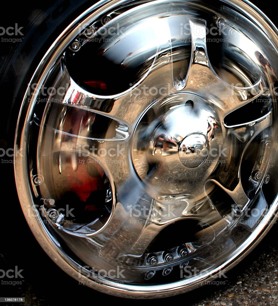 Action Wheel royalty-free stock photo
