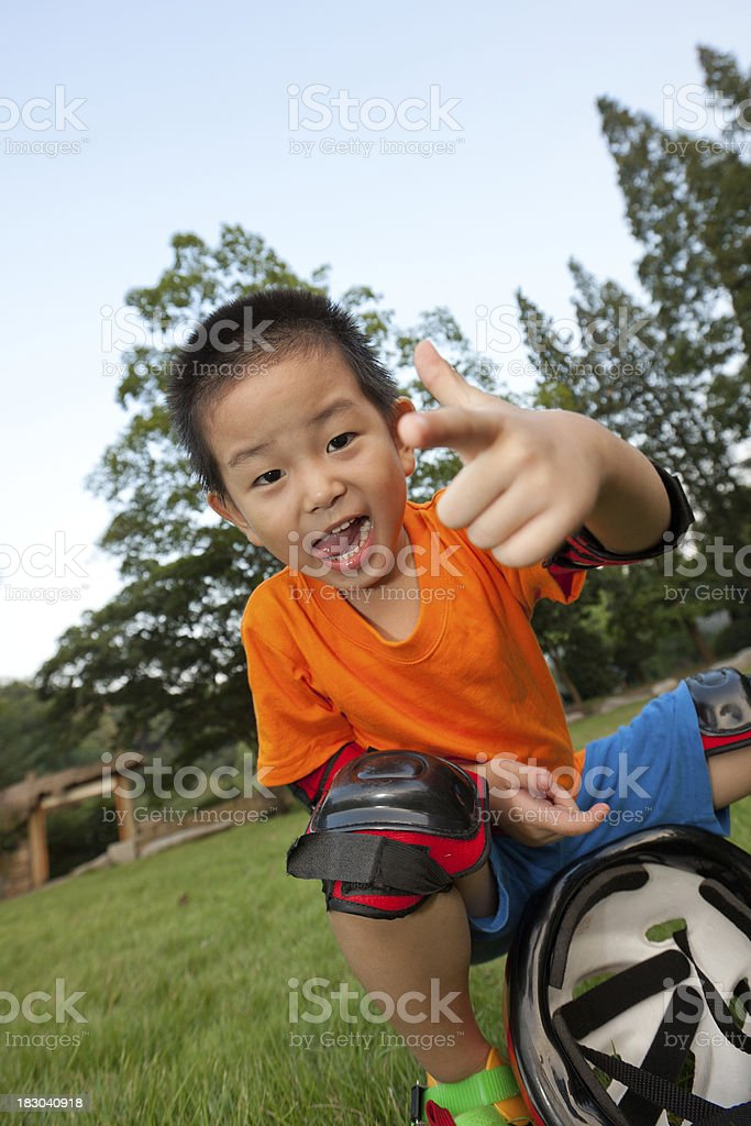 active boy stock photo