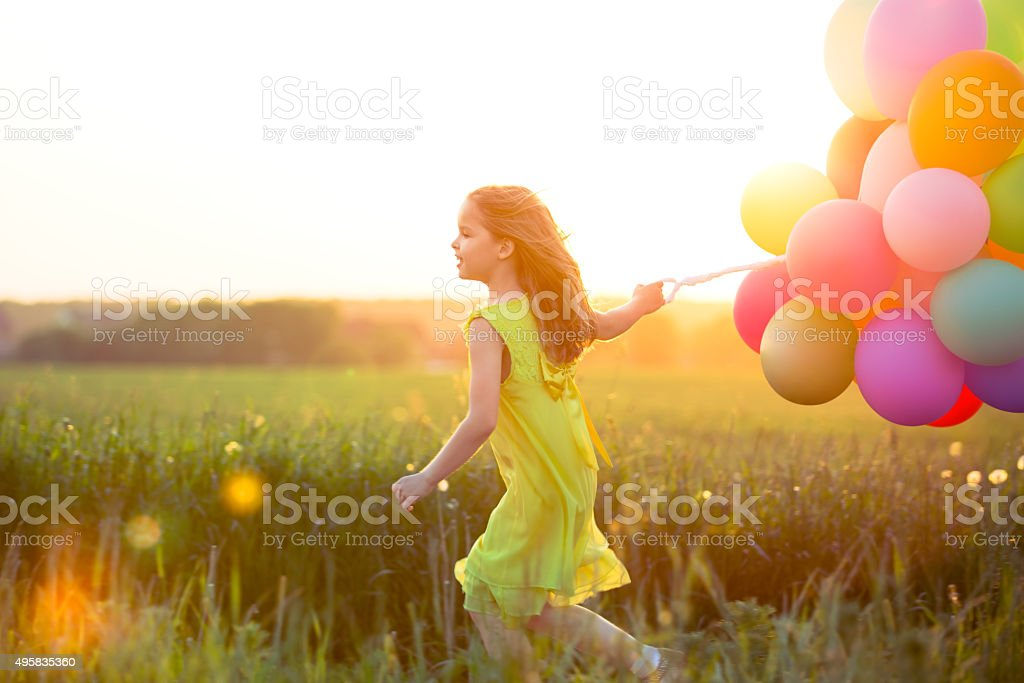 Active child stock photo
