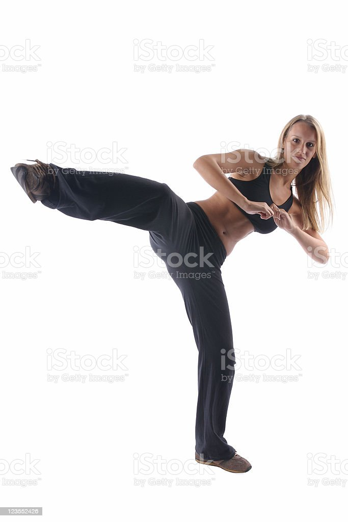 Active fitness royalty-free stock photo