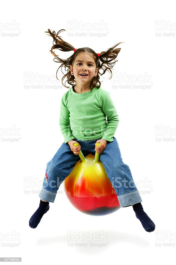 Active fun! stock photo