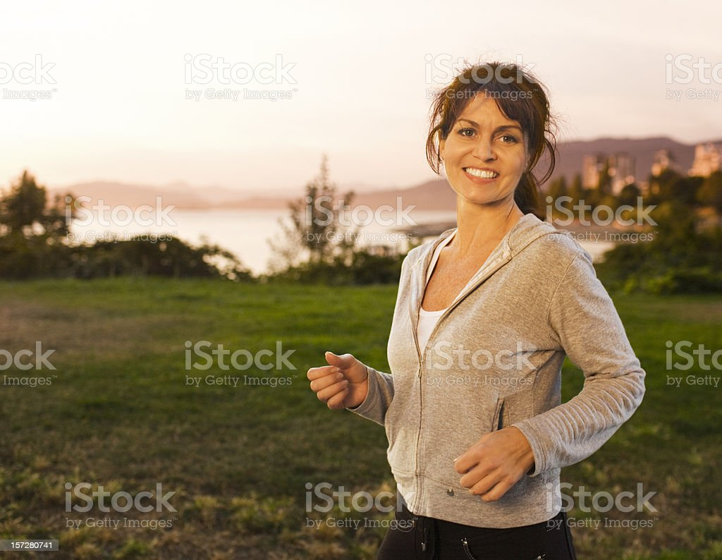 Active Mature Woman royalty-free stock photo