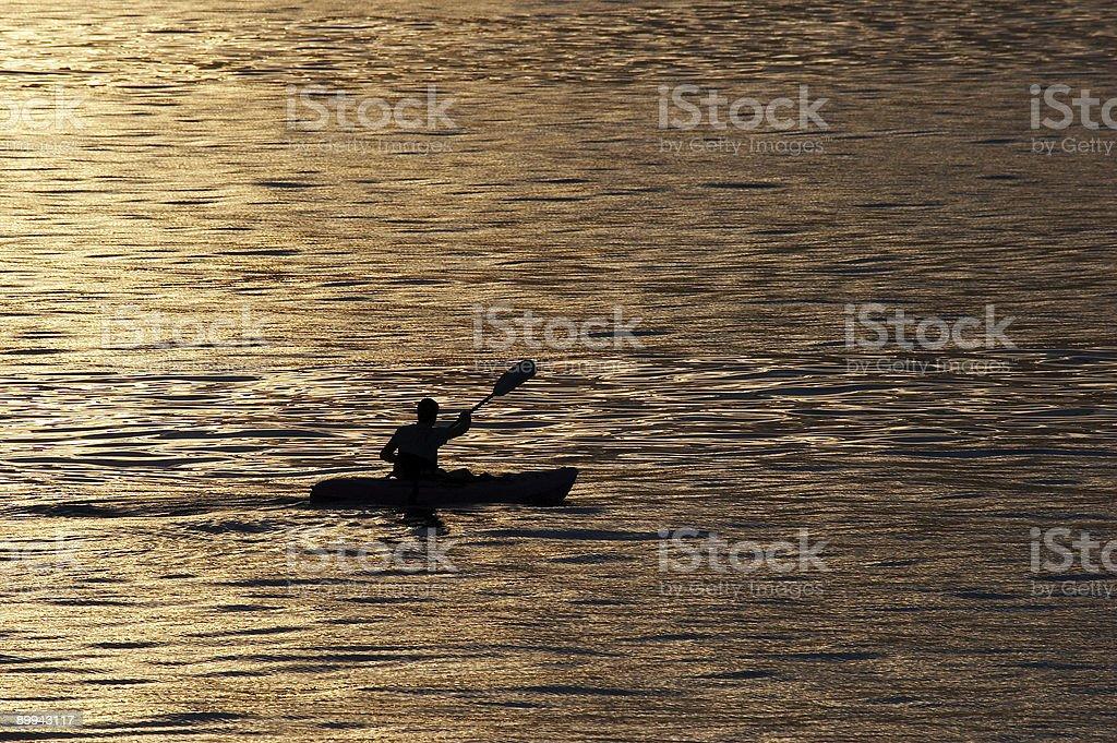 Active people - kayaking I stock photo