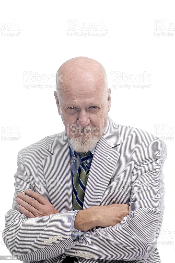 Active Senior Businessman Series royalty-free stock photo