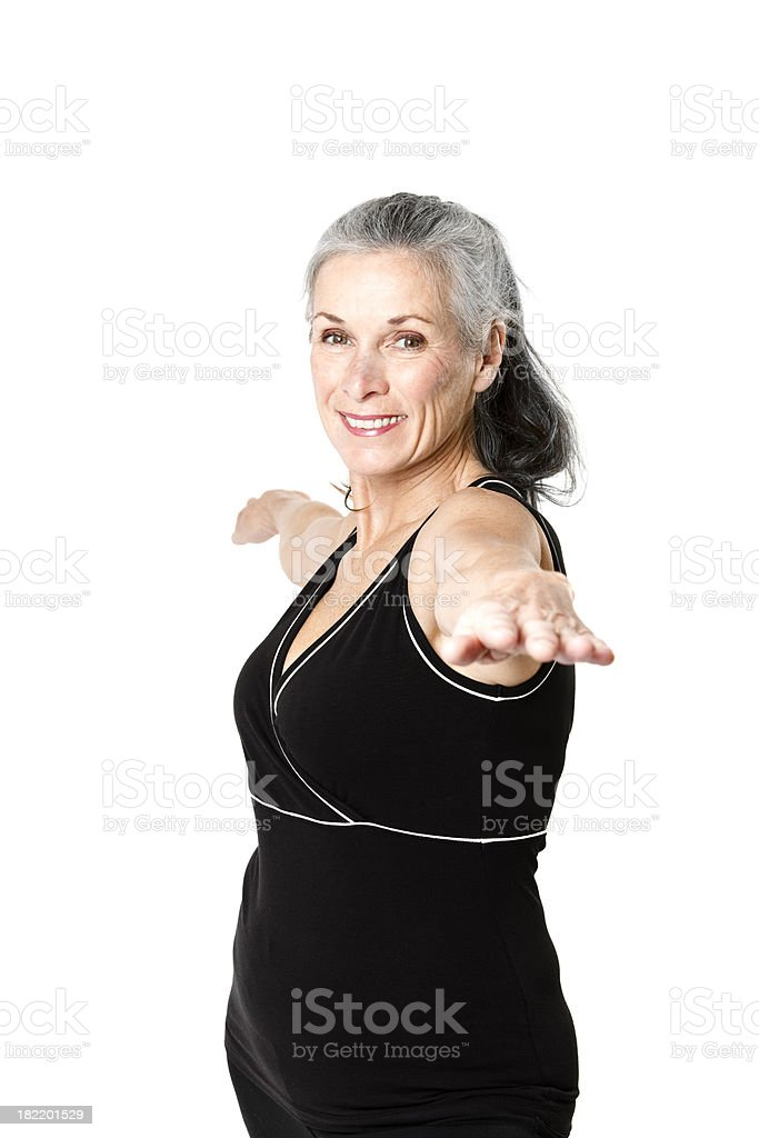Active Senior Citizen royalty-free stock photo