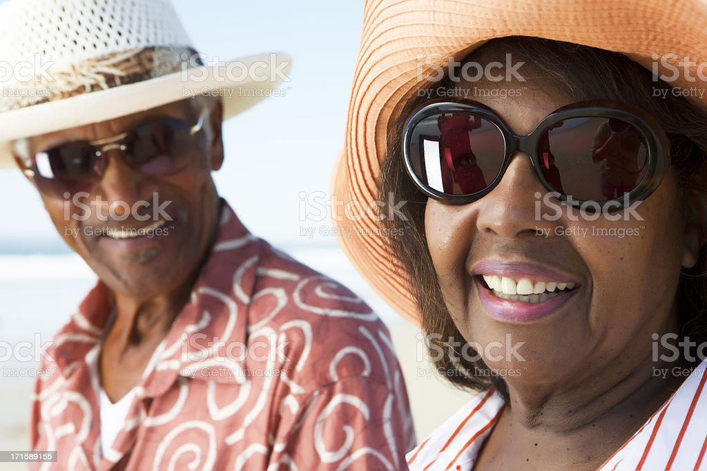 Active Senior citizens stock photo