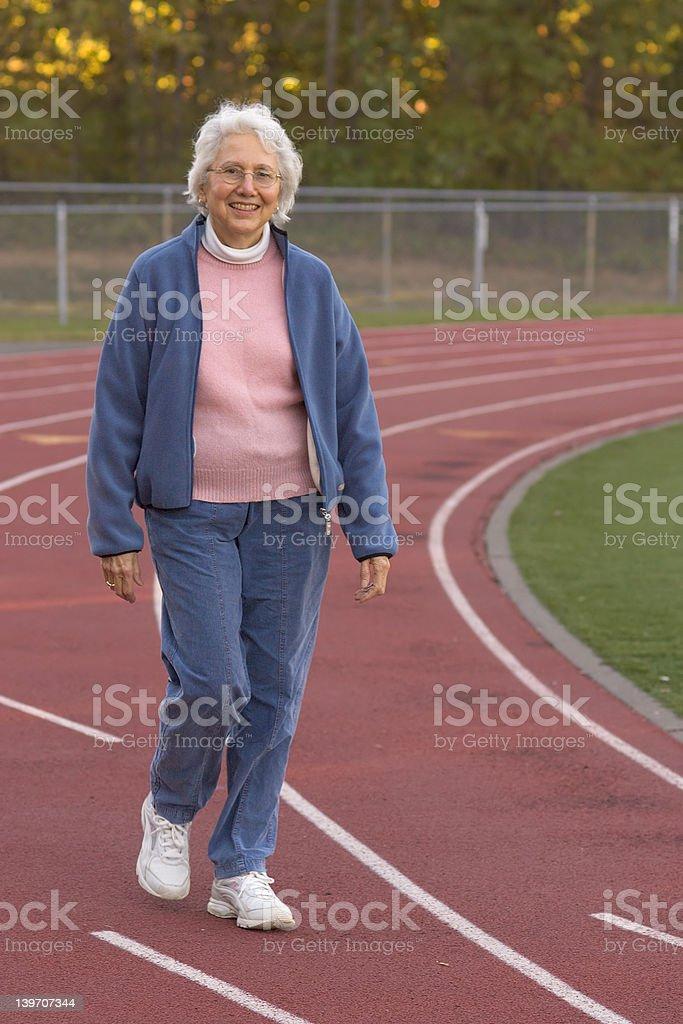 active senior royalty-free stock photo