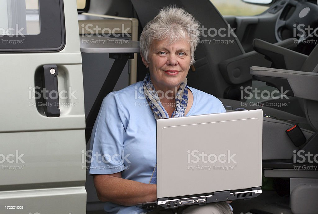 Active senior stock photo