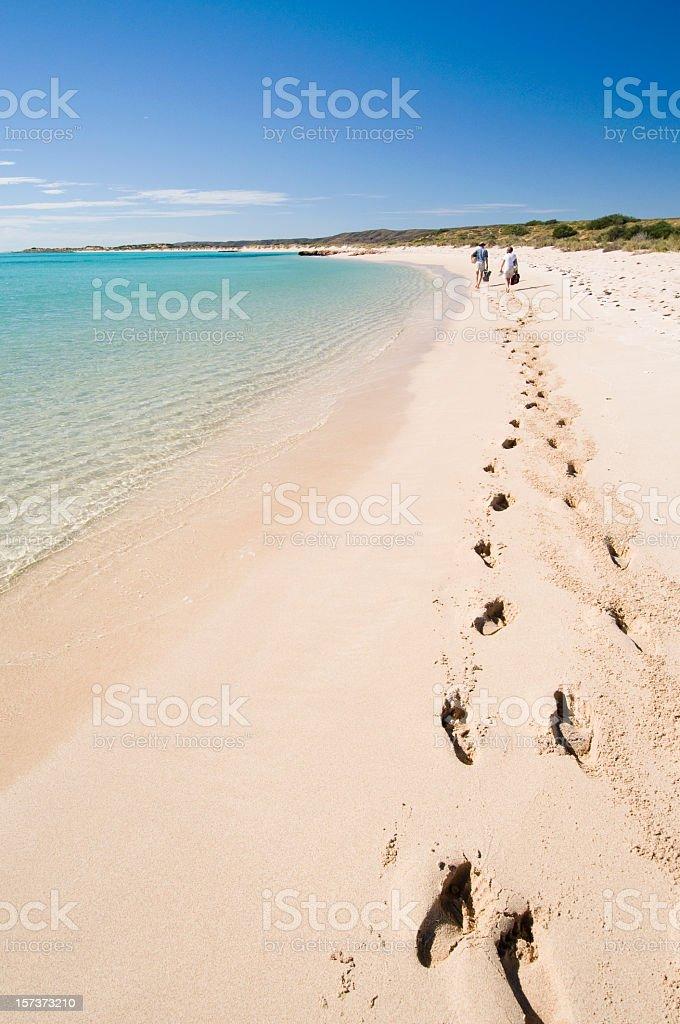Active Seniors Beach Holiday royalty-free stock photo