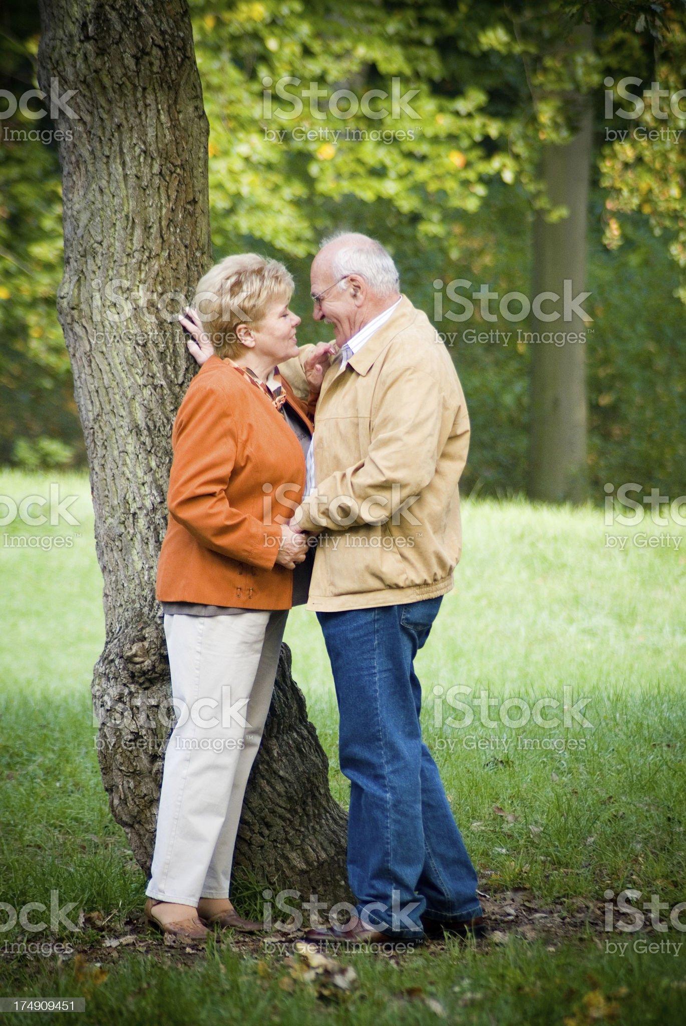 Active Seniors Series royalty-free stock photo
