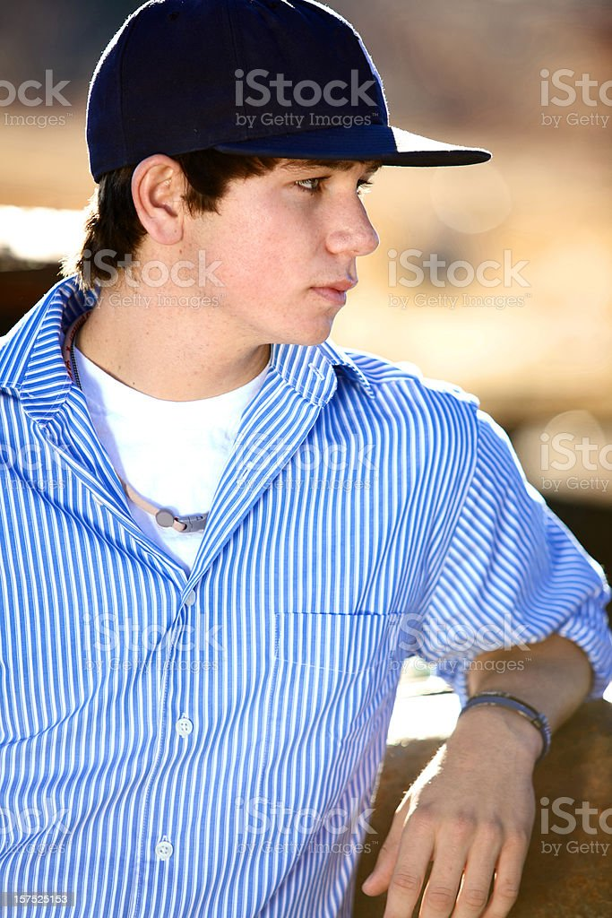 active teen male royalty-free stock photo